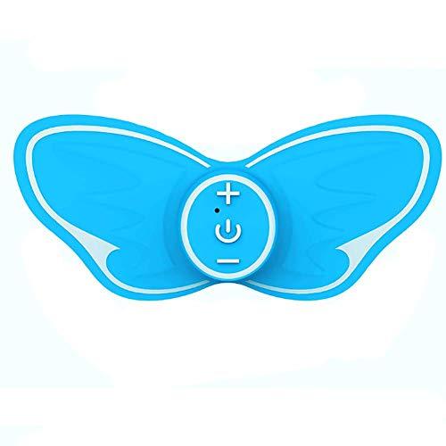 Preisvergleich Produktbild Intelligenter Mini-Nacken-Shiatsu-Massage-Stick,  USB-Aufladung Mit Wärme Und Tiefem Gewebe Kneten Ganzkörper Massage,  15 Minuten Timing,  Jederzeit Überall, Blue