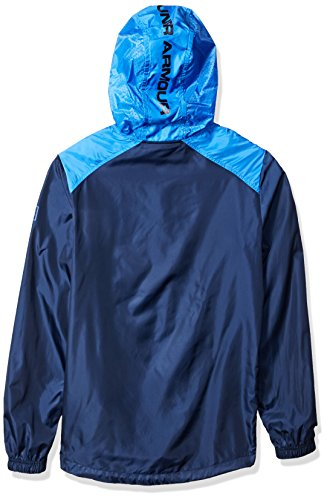 Under Armour HeatGear Sportstyle Trainingskapuzenjacke Herren blau / weiß