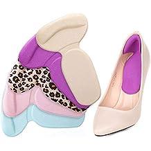 Plantillas de color suave al azar para zapatos Almohadillas Tacones Protector Reducir el dolor Antideslizante Almohadillas