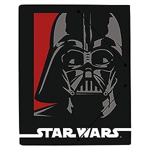 Grupo Erik Editores Carpeta Gomas A4 Polipropileno Star Wars Darth Vader 3