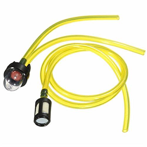 Primer Bulb Filtro Tubo Carburante Set per Per Husqvarna Poulan Ryobi Stihl Motosega