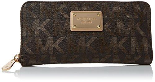 michael-kors-damen-logo-zip-around-continental-geldborse-braun-brown-20x10x3-cm