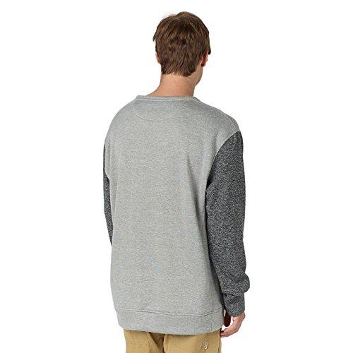 Burton Oak Crew Sweatshirt Tru Blk/Monument Htr