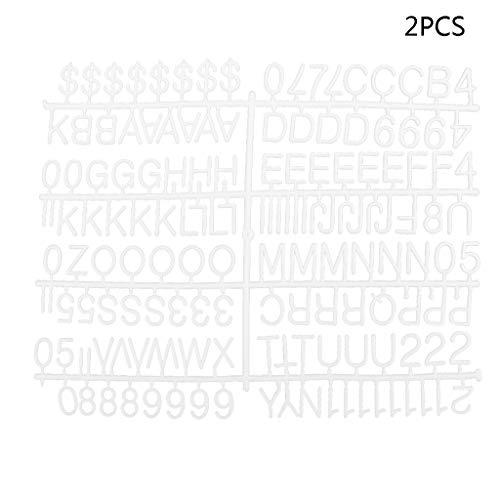 Bhty235, Kreidetafeln, groß, gerahmt, Zahlen 304 Zeichen für Filz-Briefbrett, Teilnummern für wechselbare Brieftafeln - Buchstaben Im Board Freien
