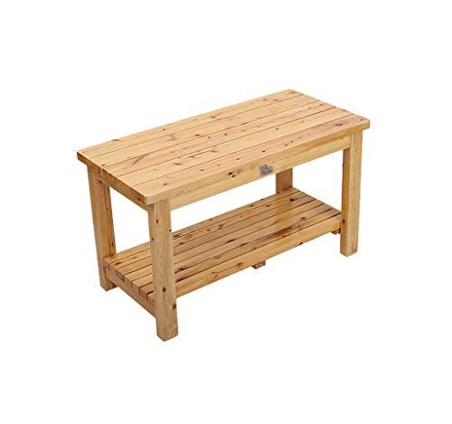 Sillas de comedor de jardín Taburete de baño Old Man de madera...