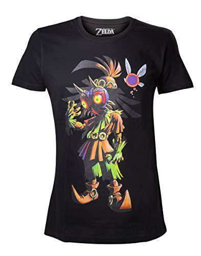 Legend of Zelda Nintendo Men's Skull Kid Majoras Mask T-shir - Camiset