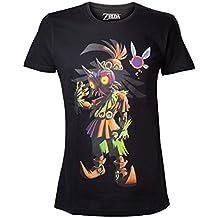 Legend of Zelda Nintendo Legend of Zelda Men's Skull Kid Majoras Mask T-Shir-Camiseta Hombre