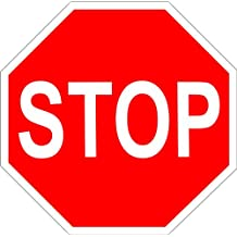 Verkehrsschilder Verkehrsfr/üherziehung Stop H/öhe der Schilder: ca Verkehrszeichen Abbiege- und Fu/ßg/änger/überweg-Schild - Set bestehend aus 5 zusammensteckbaren Schildern: Vorfahrt Standsiche Vorfahrt achten 70 cm