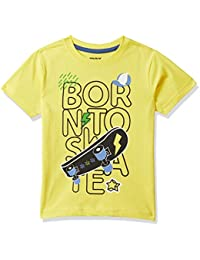 Max Boy's Regular Fit T-Shirt