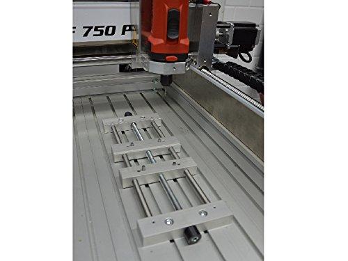 Mini Schraubstock 330 x 130 x 20 mm zentrisch spannende CNC Fräse Fräsmaschine