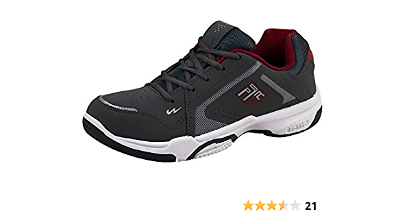 CPS Red Synthetic Sports Shoes