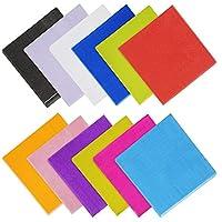 Yotako - Servilletas de papel para cóctel, 120 unidades, 2 capas para regalos de fiesta, 12 colores surtidos