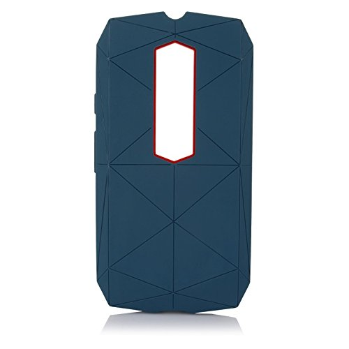 "ImagineDesign™ Military-Grade Tough Hybrid ""Stealth Armour Series"" Shockproof Rugged Back Case Cover for Motorola Moto G3 G 3rd Gen / Moto G Turbo - Washington Blue"