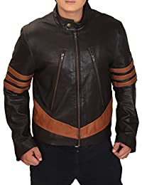 X-Men Wolverine Logans XO Replica Real Leather Jacket (XSmall)