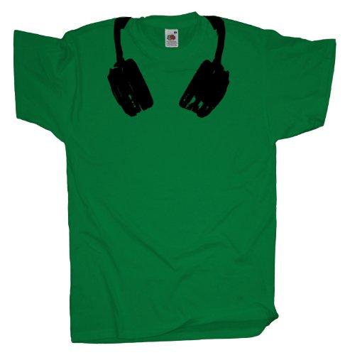 Ma2ca - Headphones - T-Shirt Kelly