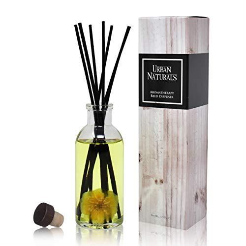 Urban Naturals Duftstäbchen mit Rosen- und Vanilleduft (Comfort + Solace) für Geist und Körper, Aromatherapie-Kollektion, ätherisches Öl, botanischer Raumduft (Yankee-kerzen-verkauf)