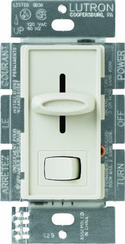 Lutron sfsq-lf-la Skylark 1,5AMP 1pol. 3slide-to-off Fan und Licht Kontrolle, Licht Mandel von - Licht Dimmer Slide