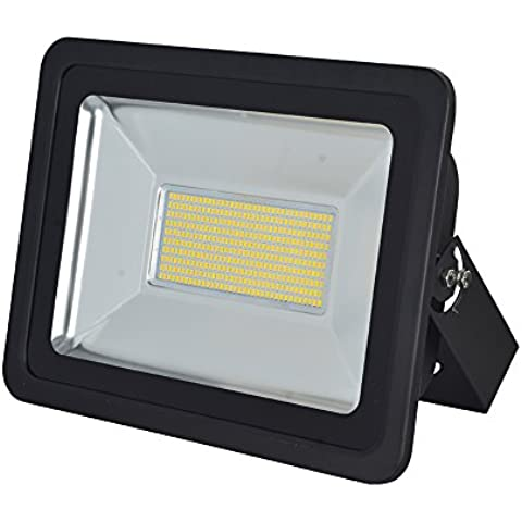 10W / 20W / 30W / 50W / 100W / 150W / 200W / 300W risparmio di energia esterna del LED luce di inondazione di sicurezza ha condotto il proiettore IP65 SMD Bianco Caldo