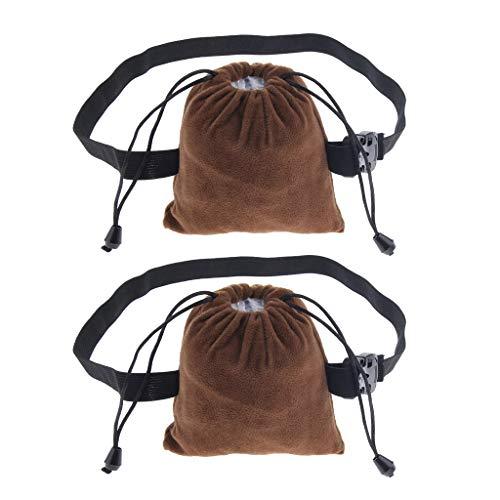 Bonarty 2 STÜCKE Kupfer Moxibustion Box Tuch Abdeckung Taschen Taschen Für