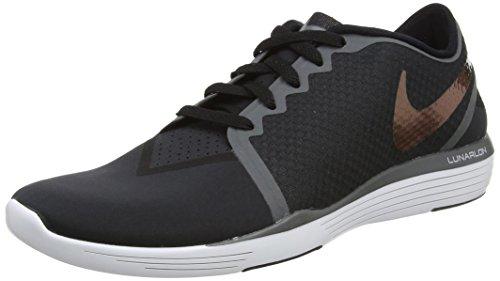 Nike Damen WMNS Lunar Sculpt Wanderschuhe, Black (Black (Schwarz/Schwarz-Dunkelgrau)), 38.5 - Lunar Sculpt Nike