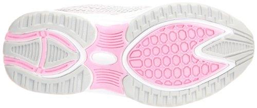 Kangaroos Toma, Chaussures de sport fille Gris (Metallicgrey/Begonia/White)