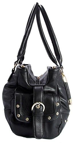 Big Handbag Shop - Borsa donna (Medium Tan (BH511)) Para La Venta Barata En Línea De Taller Envío Libre Finishline Libre Del Envío U9VZJEKAC