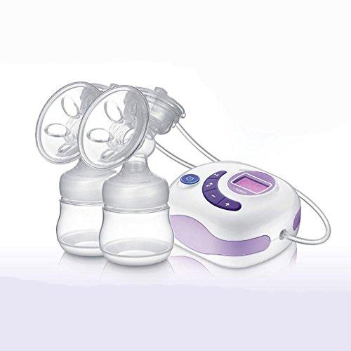 Pompe à vent bilatérale Pompe à pépins électrique Traitement automatisé maternelle Huile maternelle Muet batterie à grande capacité pour augmenter l'efficacité du lait plus rechargeable rechargeable