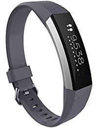 X-Rrfis Silicone Wrist Band Strap watch band For Fitbit Alta HR