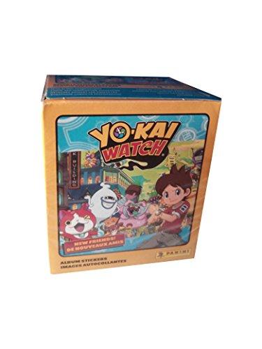 Yo-Kai Watch-Yo- Caja con 50 cromos ¡Nuevos Amigos! (Panini...