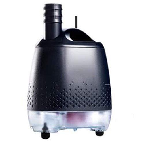 L&WB Untersaug-Tauchpumpe -24V Frequenzumwandlung Sichere Energieeinsparung Wasserloser Schutz Extrem leiser externer Regler Aquariumpumpe,80w