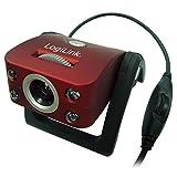 Produkt-Bild: LogiLink Webcam USB 300k CMOS Sensor (interpoliert 8Mpixel) mit LED und Mikrofon