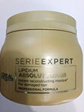Loreal serieexpert lipidium absolut repair mask For damaged hair 496g