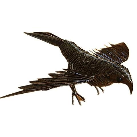 Bird Hand Woven Tier-Modell handgemachte Geschenke Basteln reinen, natürlichen Leaf, so ()
