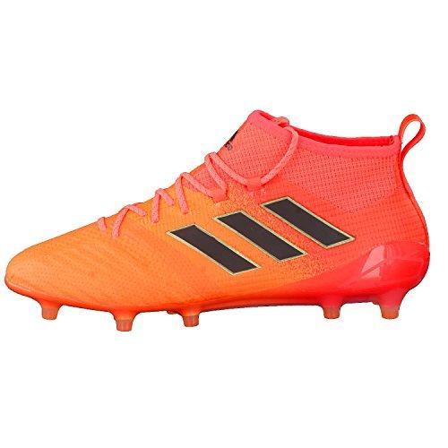 Adidas Ace 17 1 FG  Botas de F  tbol para Hombre  Varios Colores  Narsol Negbas Rojsol   42 EU