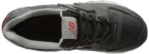 New Balance NBML574UKD Sneaker, Unisex Black Luxury D