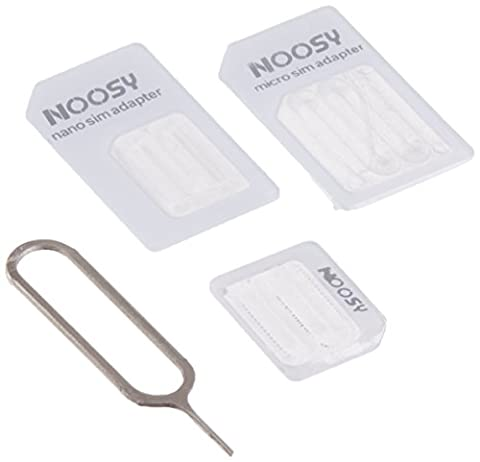 Nano to Micro/Normal SIM Card Adapter for Apple iPhone 5