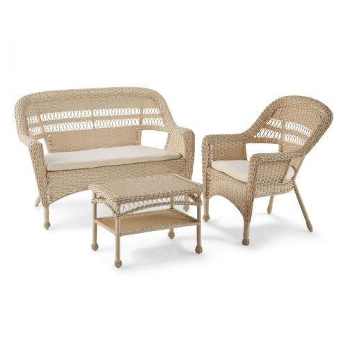 Gartenmöbel-Set 4-tlg. Lavy