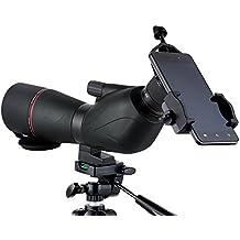 Ueasy impermeable 15–45x 60Telescopio de alta potencia monocular observación de aves de caza Bak4prisma con multirrecubrimiento optics binoculares telescopio con trípode y bolsa de transporte