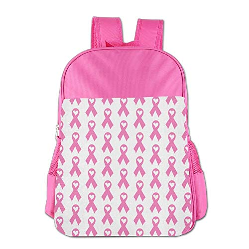 ess Ribbon with Heart Children School Backpack Carry Bag for Teens Boy Girls ()