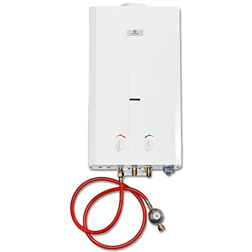 Eccotemp CEL10 10 LPM Portable Outdoor Tankless Water Heater, 50mbar
