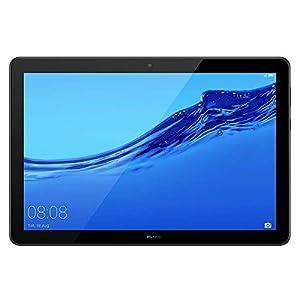 """Huawei MediaPad T5. Diagonal de la pantalla: 25,6 cm (10.1""""), Resolución de la pantalla: 1920 x 1200 Pixeles. Capacidad de almacenamiento interno: 32 GB. Frecuencia del procesador: 2,36 GHz, Familia de procesador: Hisilicon Kirin, Modelo del procesad..."""
