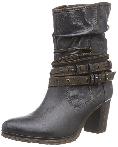 Mustang Stiefelette, Bottes femme Gris (259 graphit)