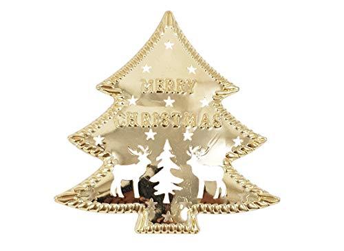 Irpot 20 decorazione albero di natale in metallo 8 x 7 8424448