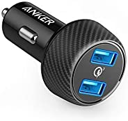 Car Charger, Anker Quick Charge 3.0 39W Dual USB Car Charger Adapter, PowerDrive Speed 2 for Galaxy S10/S9/S8/S7/S6/Plus, No