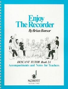 Enjoy the Recorder, Descant Tutor Book 2A: Tchrs' Bk. 2A