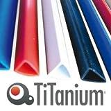 Titanium 81408dos rilegafogli, blanc, 3mm