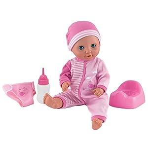 dollsworld bebé Tinkles muñeca (Rosa)