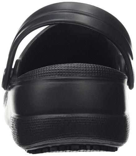 Shoes for Crews froggz Classic 2 - Sabots de Travail - Mixte Adulte Noir (Black)
