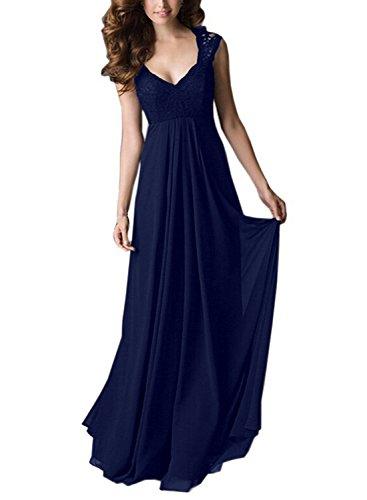 Sparkling YXB - Robe - Cocktail - Sans Manche - Femme Bleu - Bleu