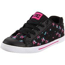 DC Shoes Chelsea D0300876 - Zapatillas de skate de lona para niña
